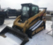 2015 Caterpillar 299D  Tracked Skid Steer
