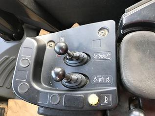 2013 CAT 980H Wheel Loader - Controls.jp