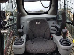 2013 CAT 289C Compact Track Loader - cab