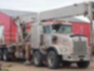 Kenworth T800 Tandem Tandem Crane Truck