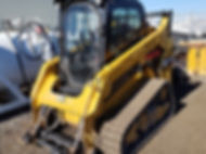 2015CAT 259D Tracked Compact Loader