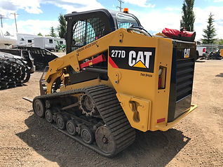 2015 CAT 277D Compact Track Loader - Bac