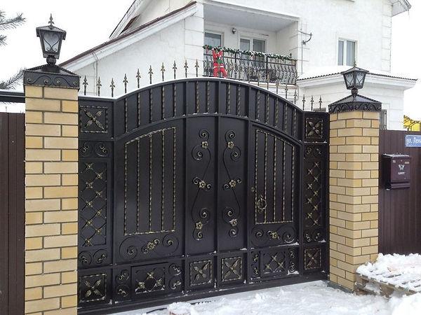 кованые ворота во владимире