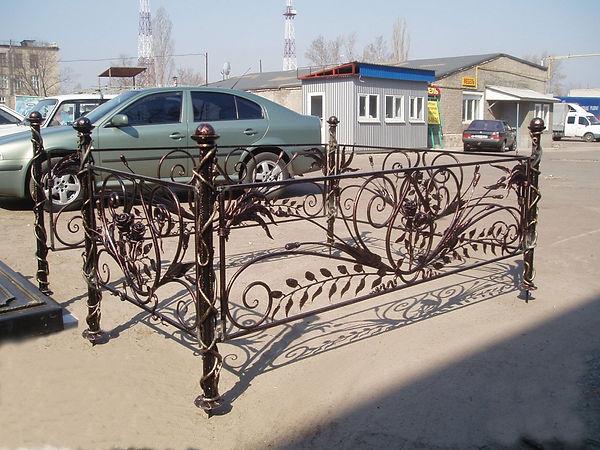 кованые оградки владимир