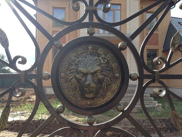 кованый забор во владимире
