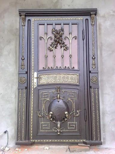 кованые двери во вадимире