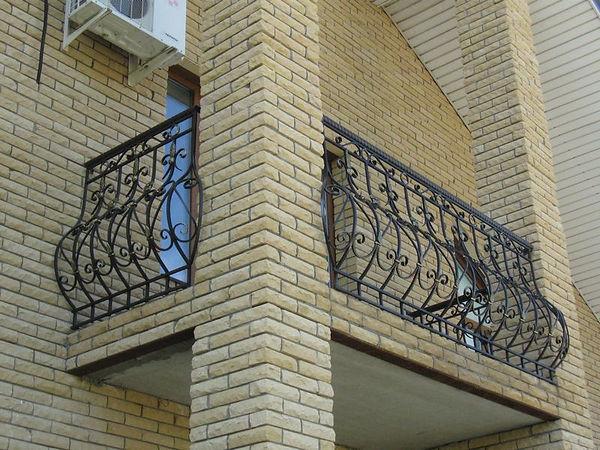 кованые балконы во вадимире