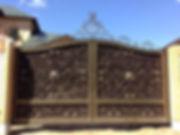 кованые ворота владимир