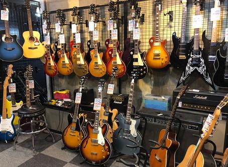 【川越のT.S.G.楽器店】国産ビンテージやミュージシャンモデルも充実!