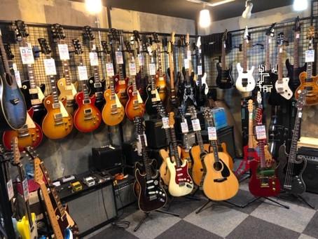 【川越のT.S.G.楽器店】2階について