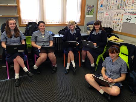 """Projekt """"Lest we forget"""" - """"Damit wir nicht vergessen"""" mit der Otago Girls`H"""