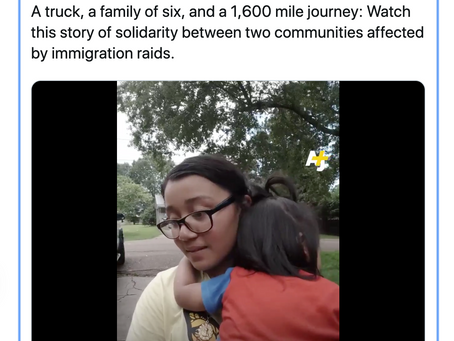 VIDEO: OH Family Drives to MS to Help Families Impacted by Immigration Raids