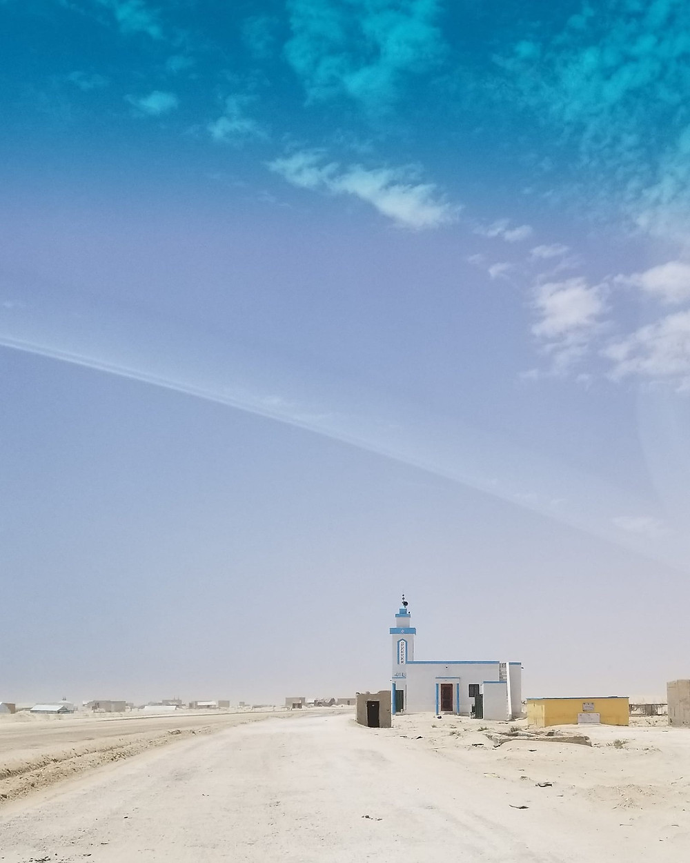 A mosque in Mauritania