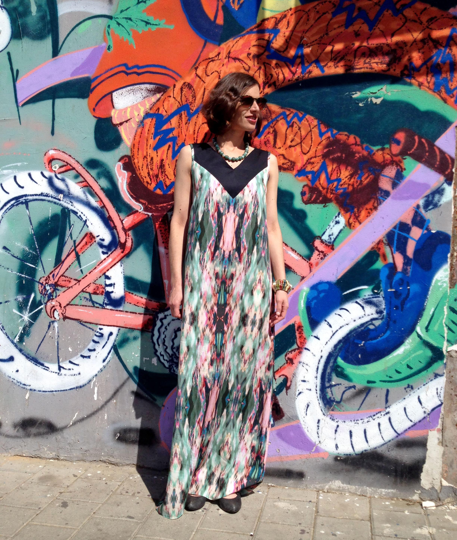 שמלת סהרה ירוקה