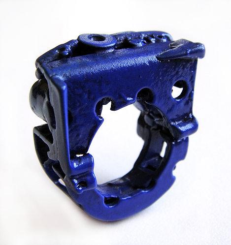 טבעת סמפל כחולה