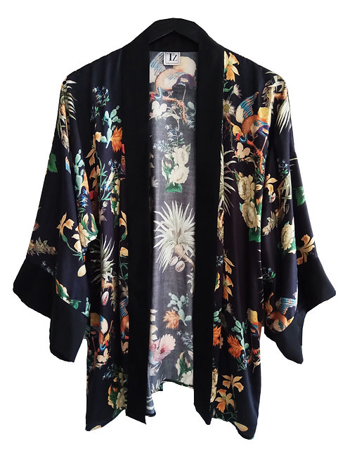 Floral Japanese Kimono