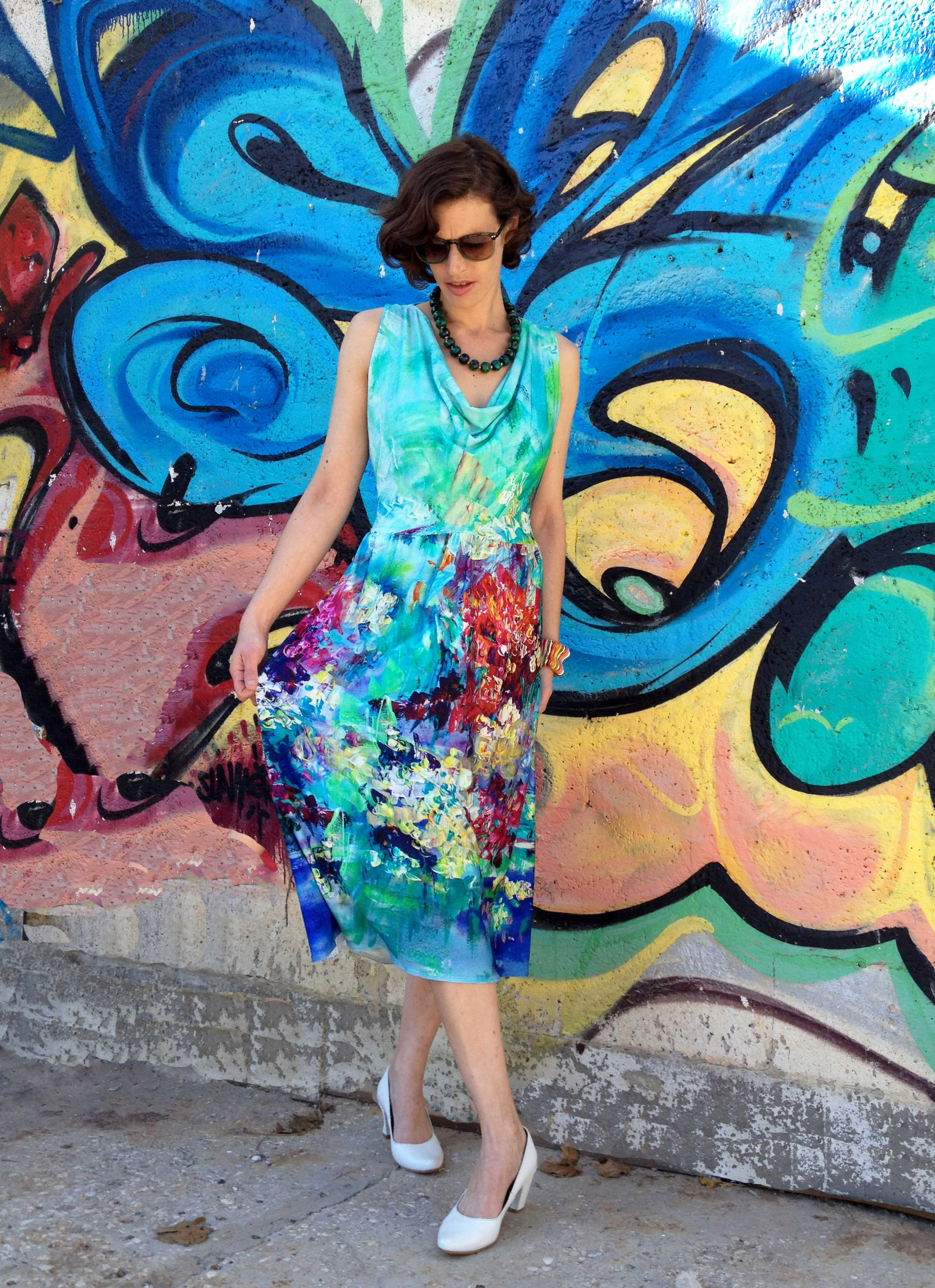 שמלת פלורנס ציור