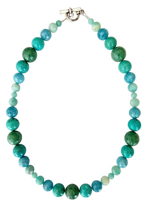 Mix Turquoise and Aventurine Necklace