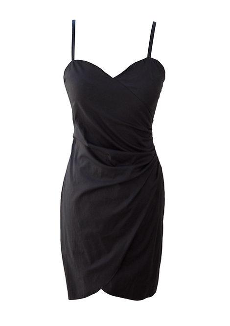 שמלת מעטפה שחורה