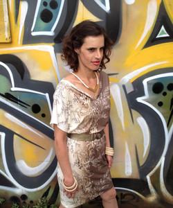 שמלת מניפה חומה