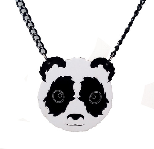 Panda Necklace Laser Cut