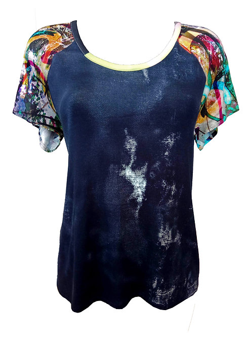 Graffiti Raglan Shirt
