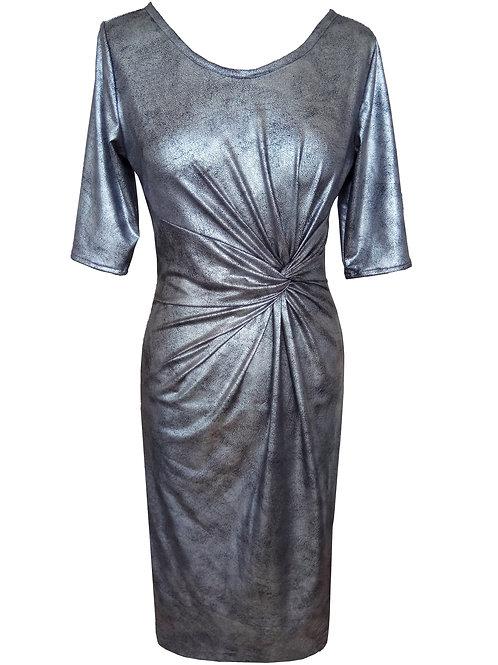 Silver Twist Dress