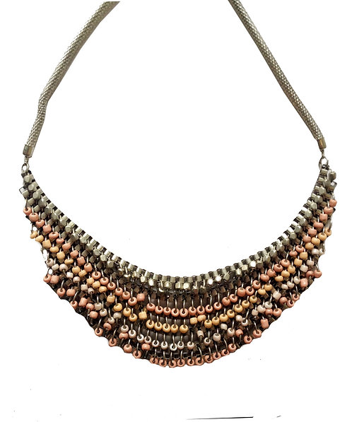 Pink beads Necklace