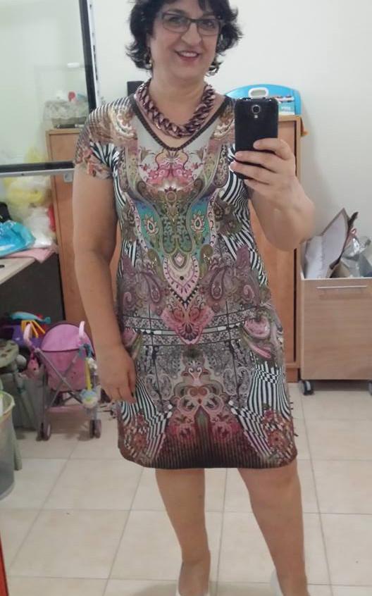 שמלת מניפה פייזלי