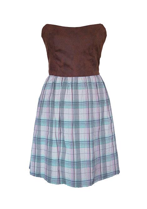 Tartan Holy Dress - שמלת הולי משבצות