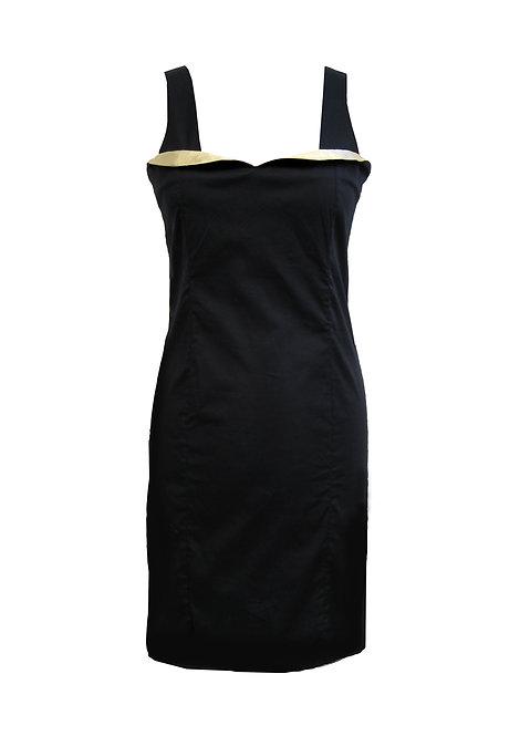 שמלת מיני שחורה