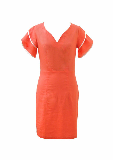 שמלת אביב קורל