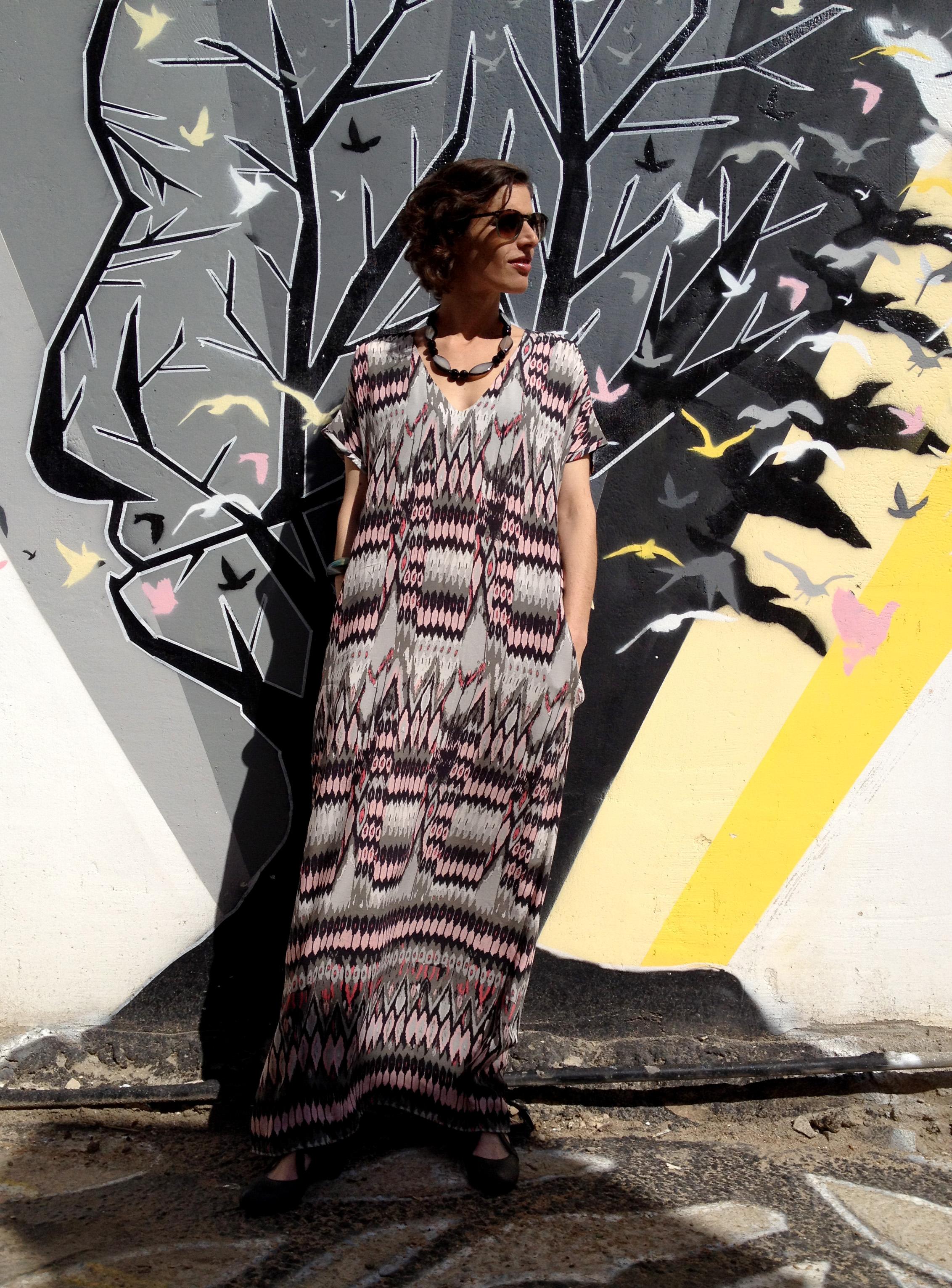 שמלת גלבייה אינדיאנית