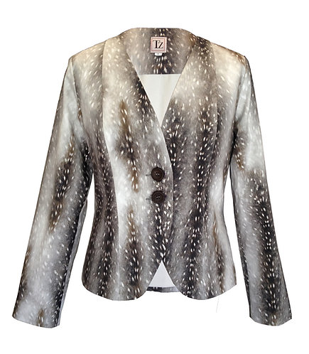 Leopard Tailored Jacket