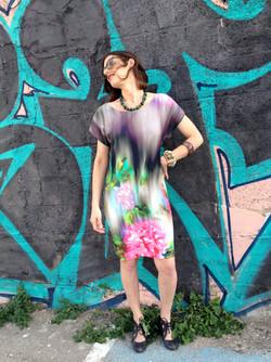 Floral Summer Dress שמלת שני פרחונית