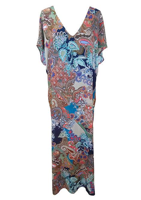 שמלת גלבייה פייזלי