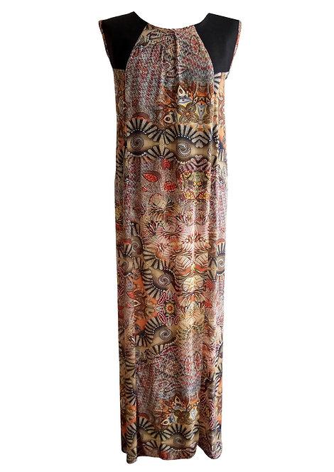 שמלת מקסי אפרודיטה שבטית