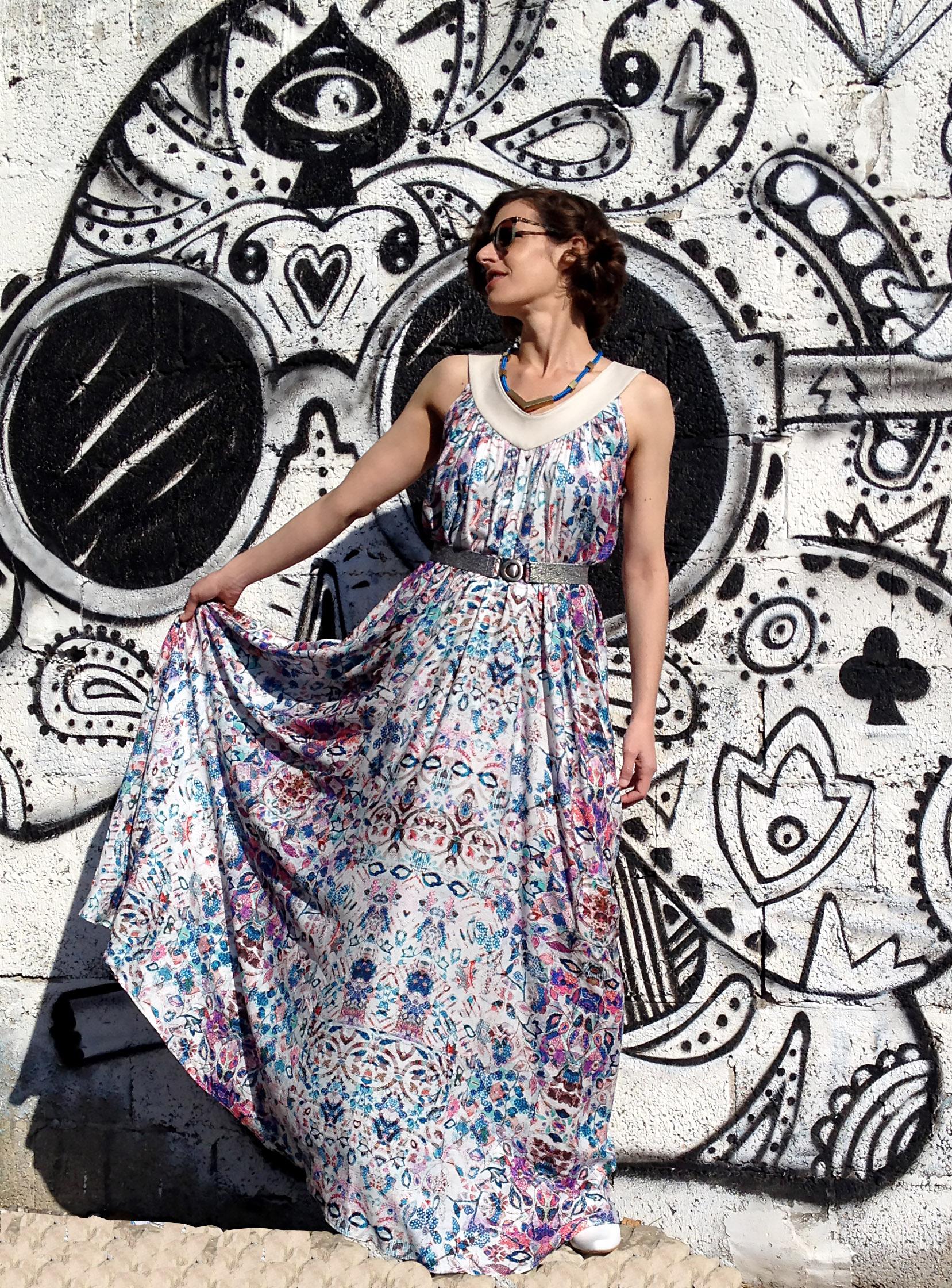 שמלת עלמה אביבית