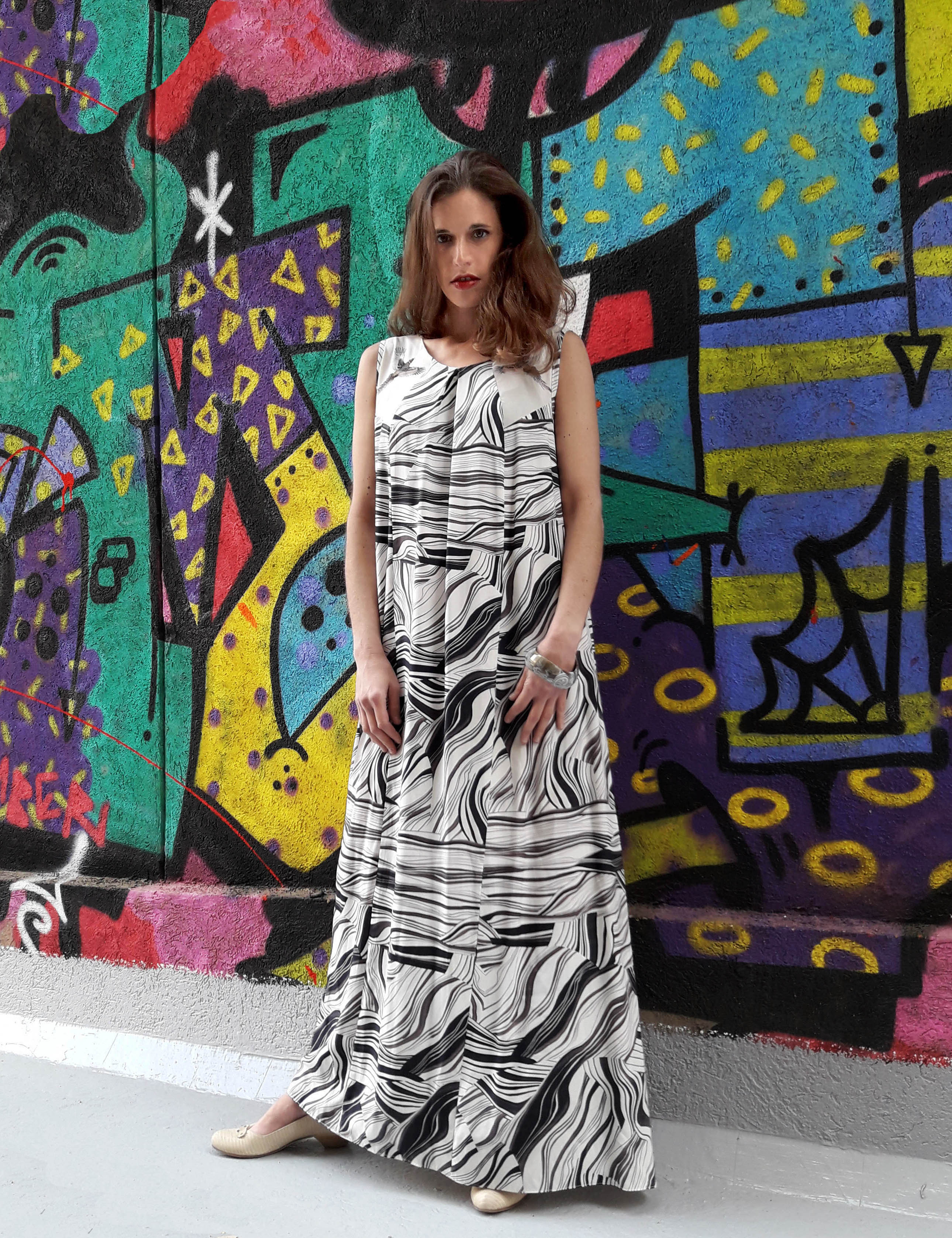Tamar Ziv -  Birds Maxi Dress