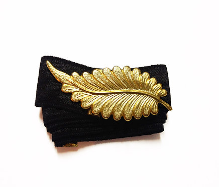 Gold Feather Belt