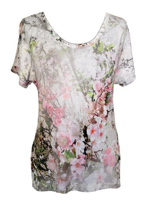 Cherry Blossom Shirt חולצת בילי פריחת הדובדבן