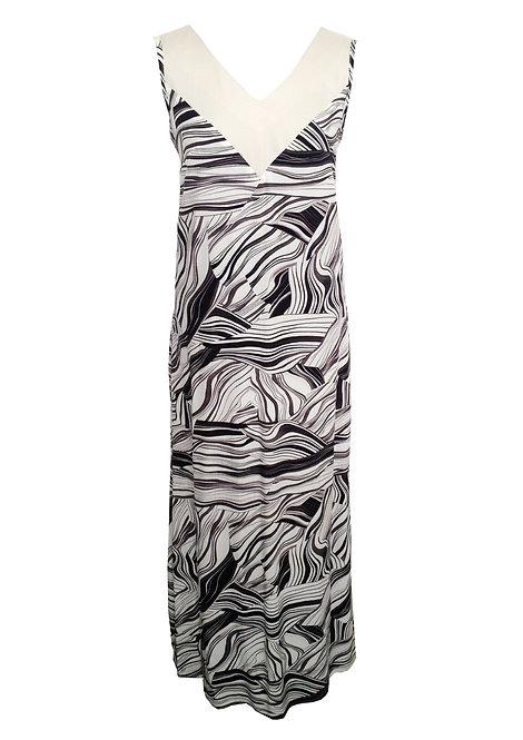 שמלת גלביה מקסי סהרה