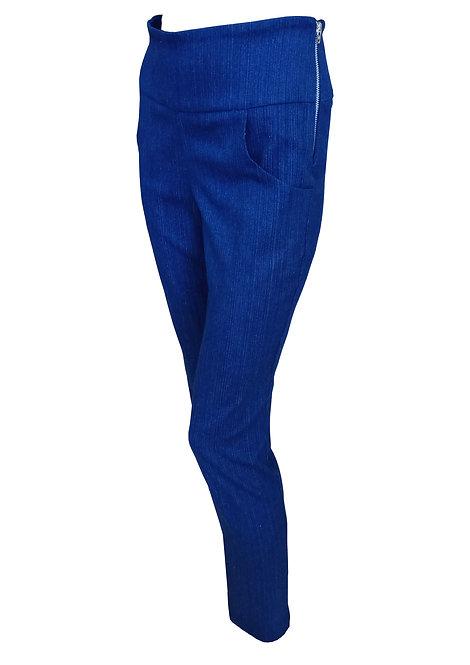 מכנסי ג'ינס מחוייט -כחול כהה
