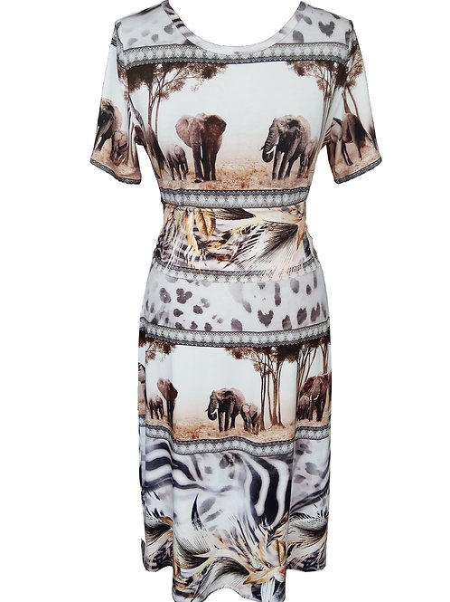 Elephant Safari Dress