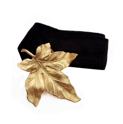 חגורת עלה זהב