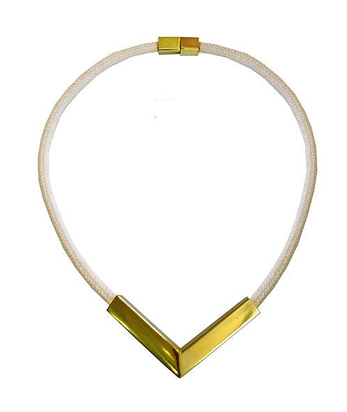 White V Rope Necklace