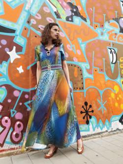 Tamar Ziv - African Maxi Dress