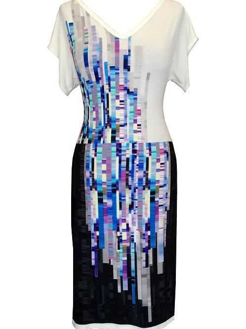 Geometric Cotton Dress