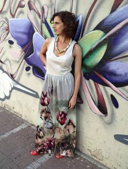 שמלת מחוך טוליפים