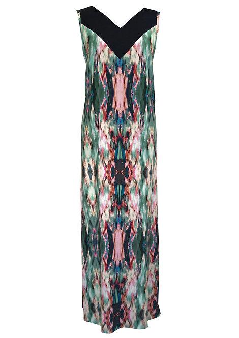 Kaftan Dress - Green Sahara
